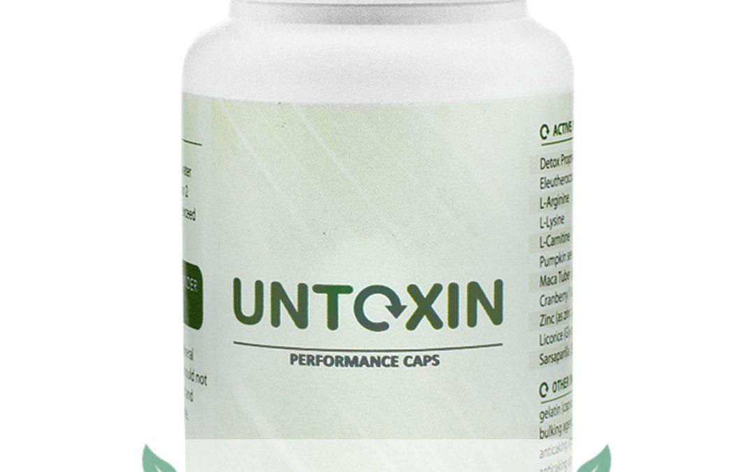 Untoxin – tabletki na oczyszczenie organizmu