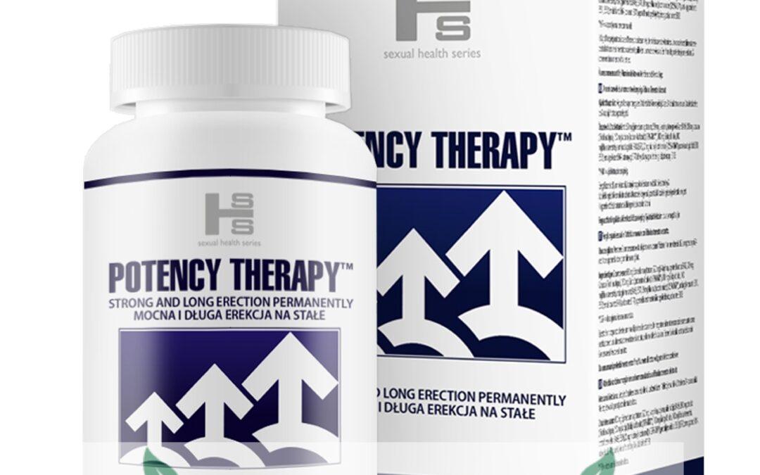 Potency Therapy – tabletki na erekcje