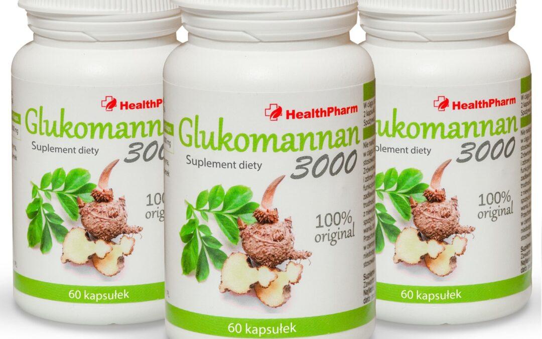Glukomannan 3000 – tabletki na odchudzanie